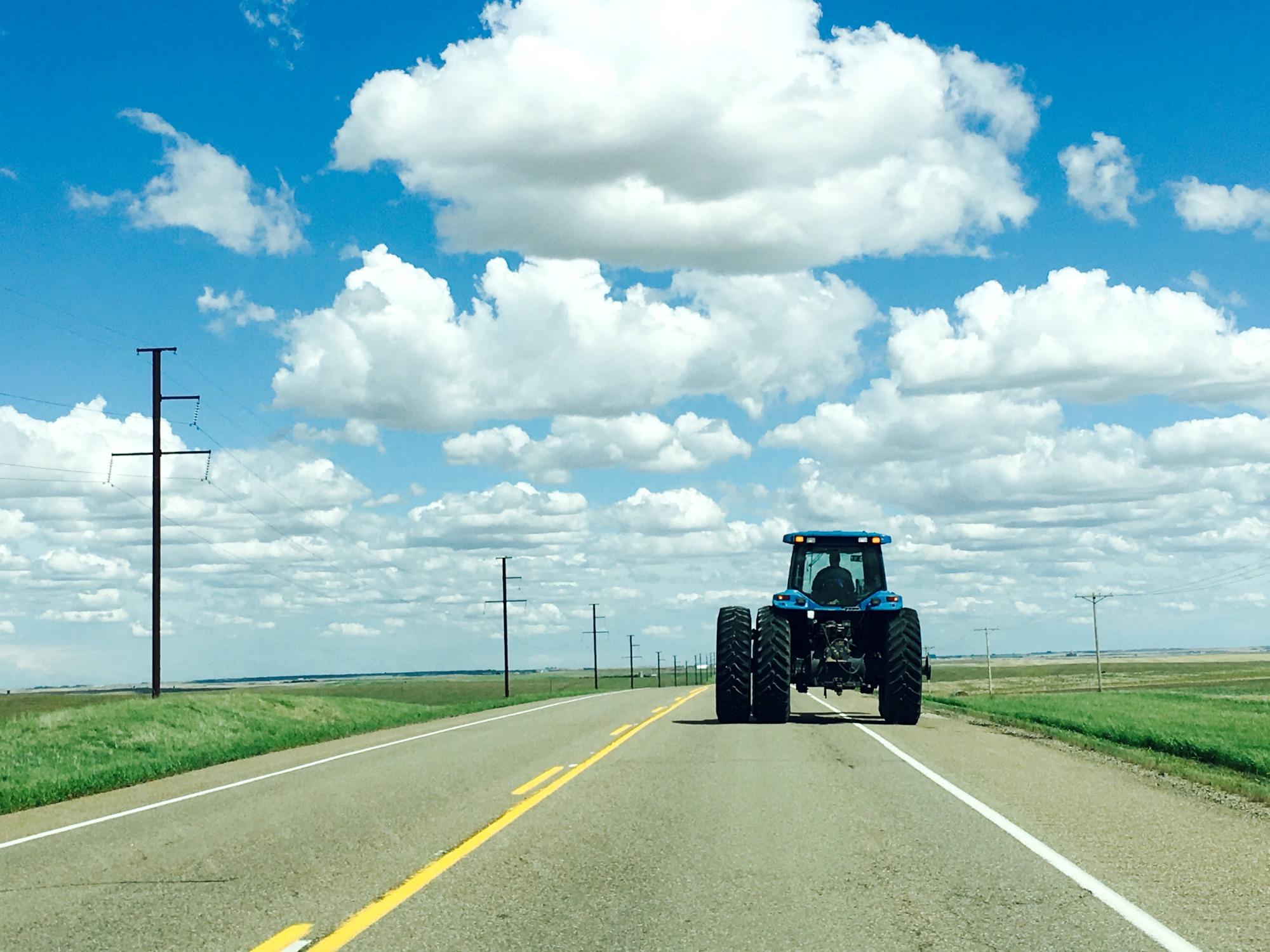 Saskatchewan tractor