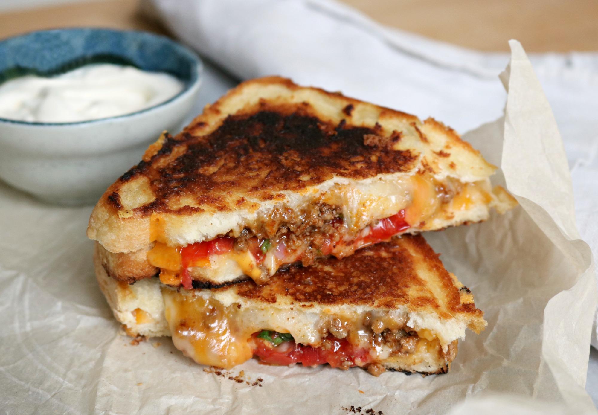 Taco sandwich 1