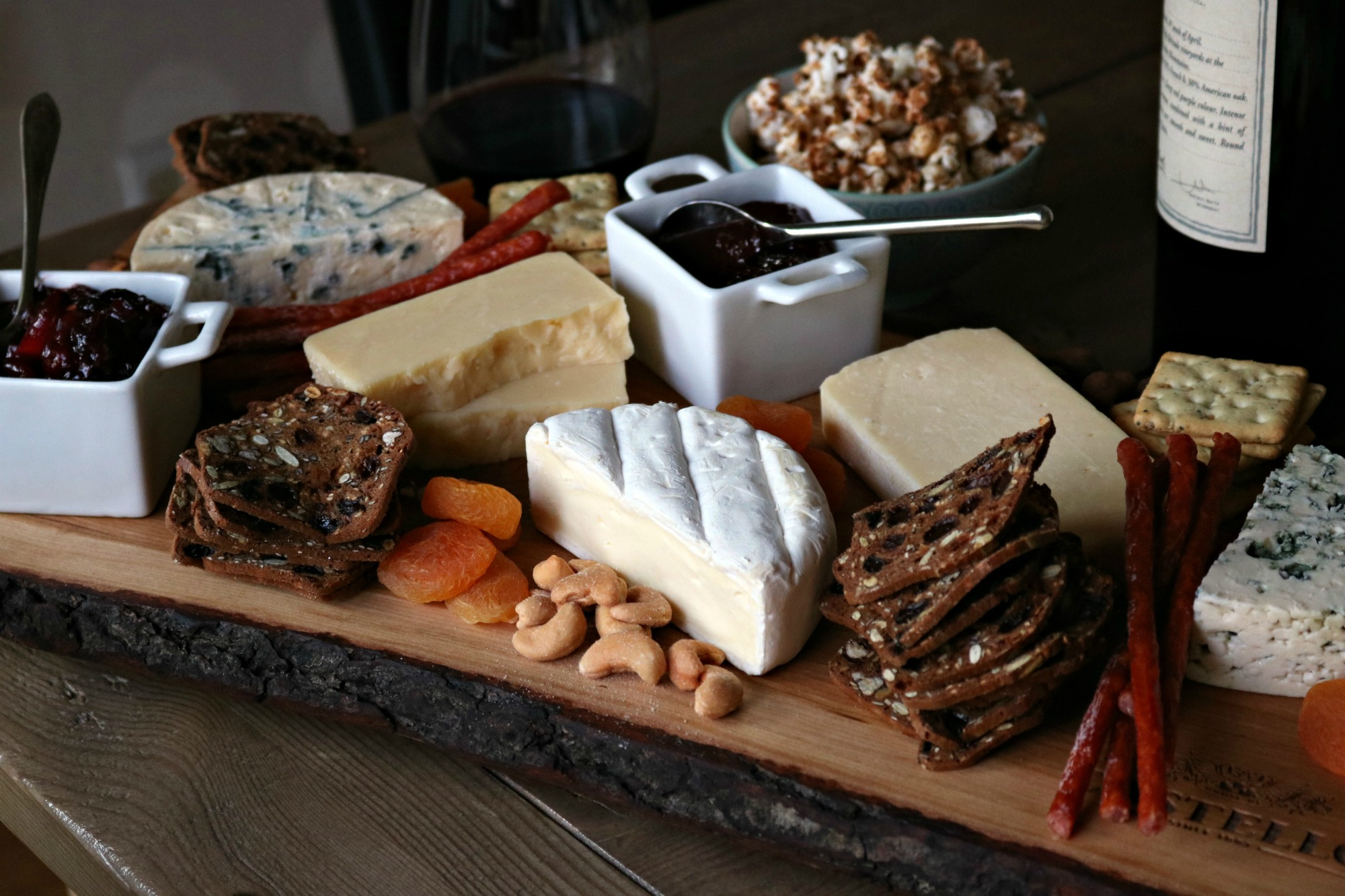 Castello Cheese board 2