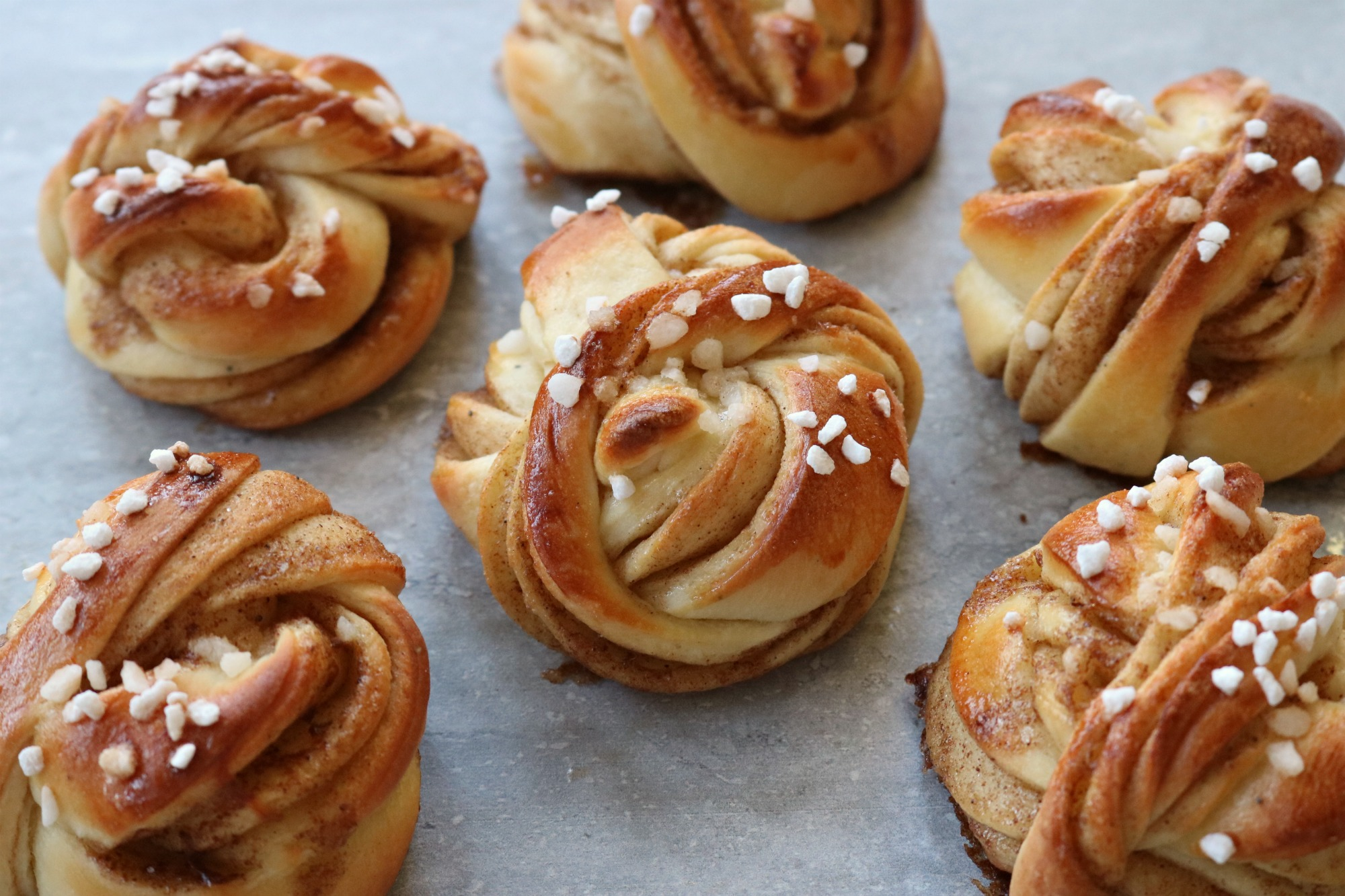 Kanelbullar - Scandanavian cinnamon buns