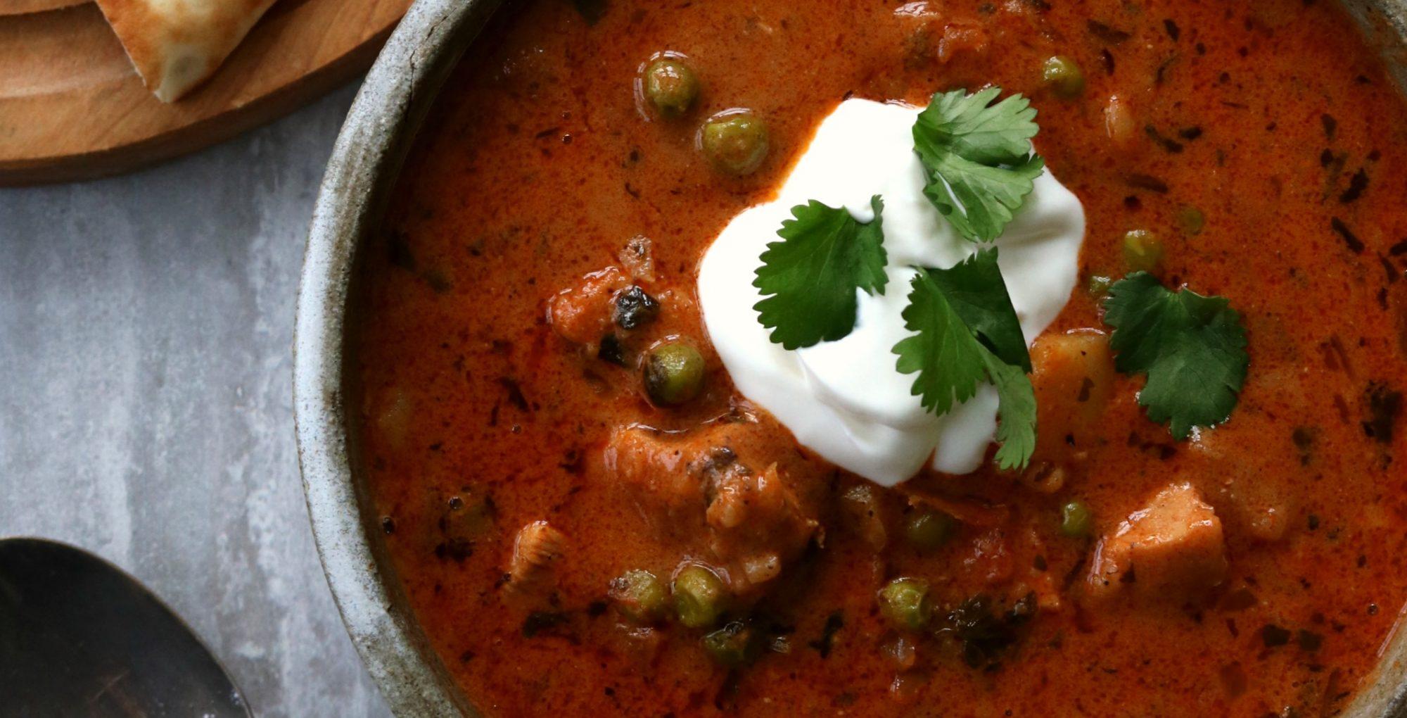 Butter chicken soup recipe