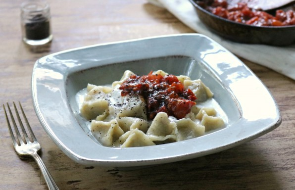 Manti (Turkish Lamb Dumplings)