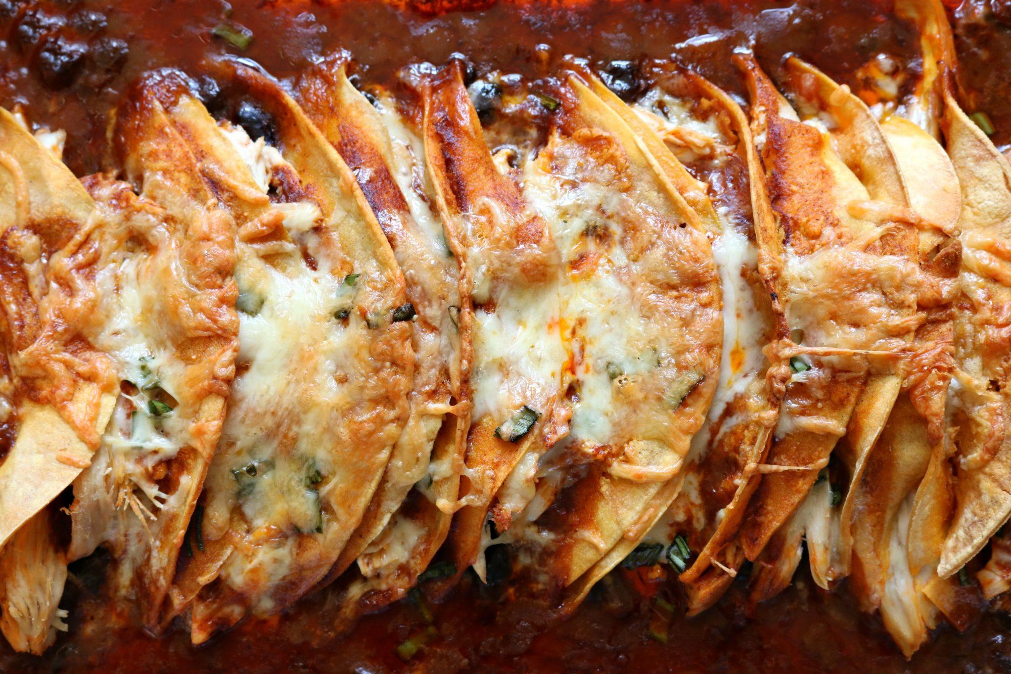 Chicken Enchiladas 1
