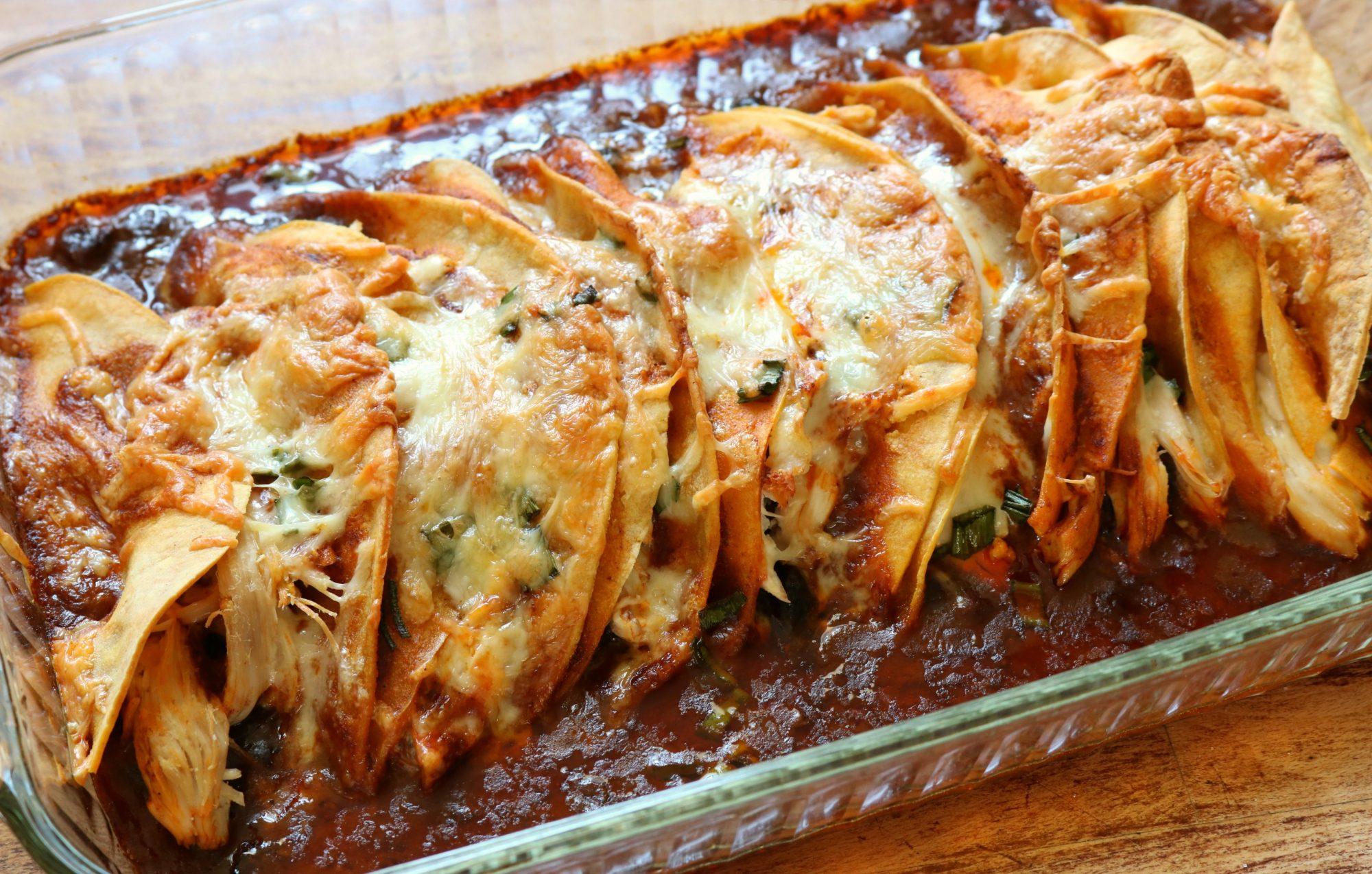 Chicken Enchiladas 2