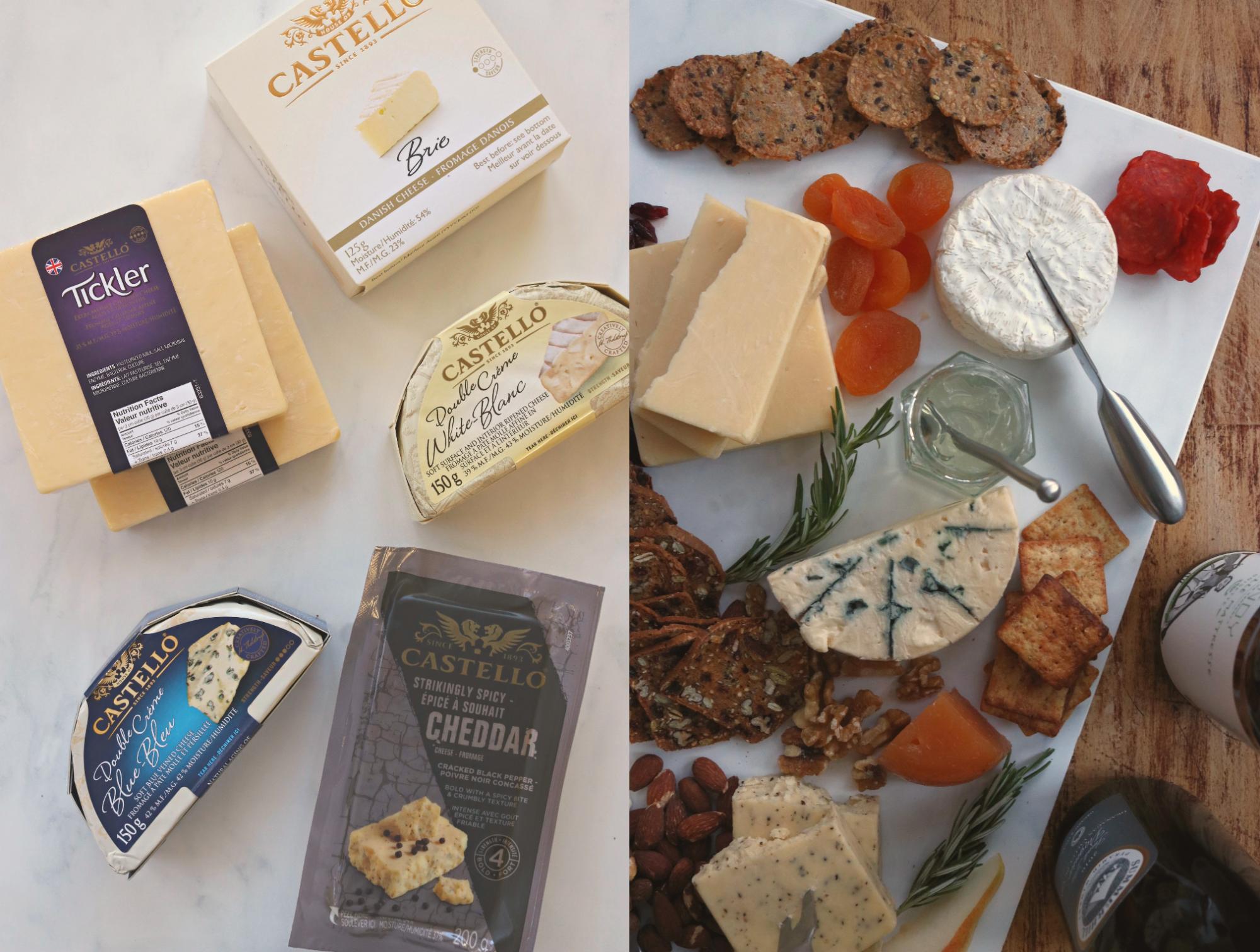 Castello Cheese board 6