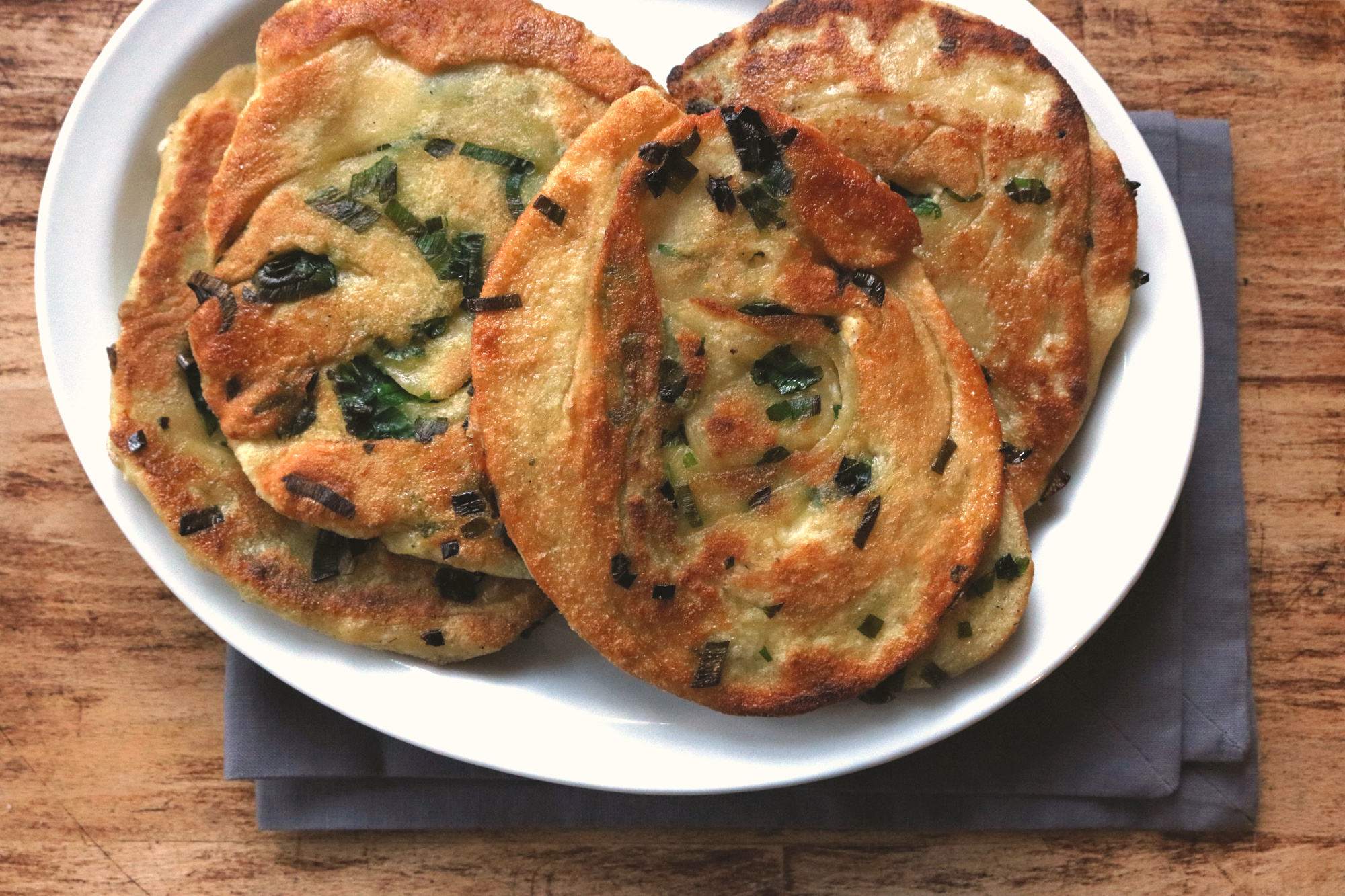 Green Onion cakes 1