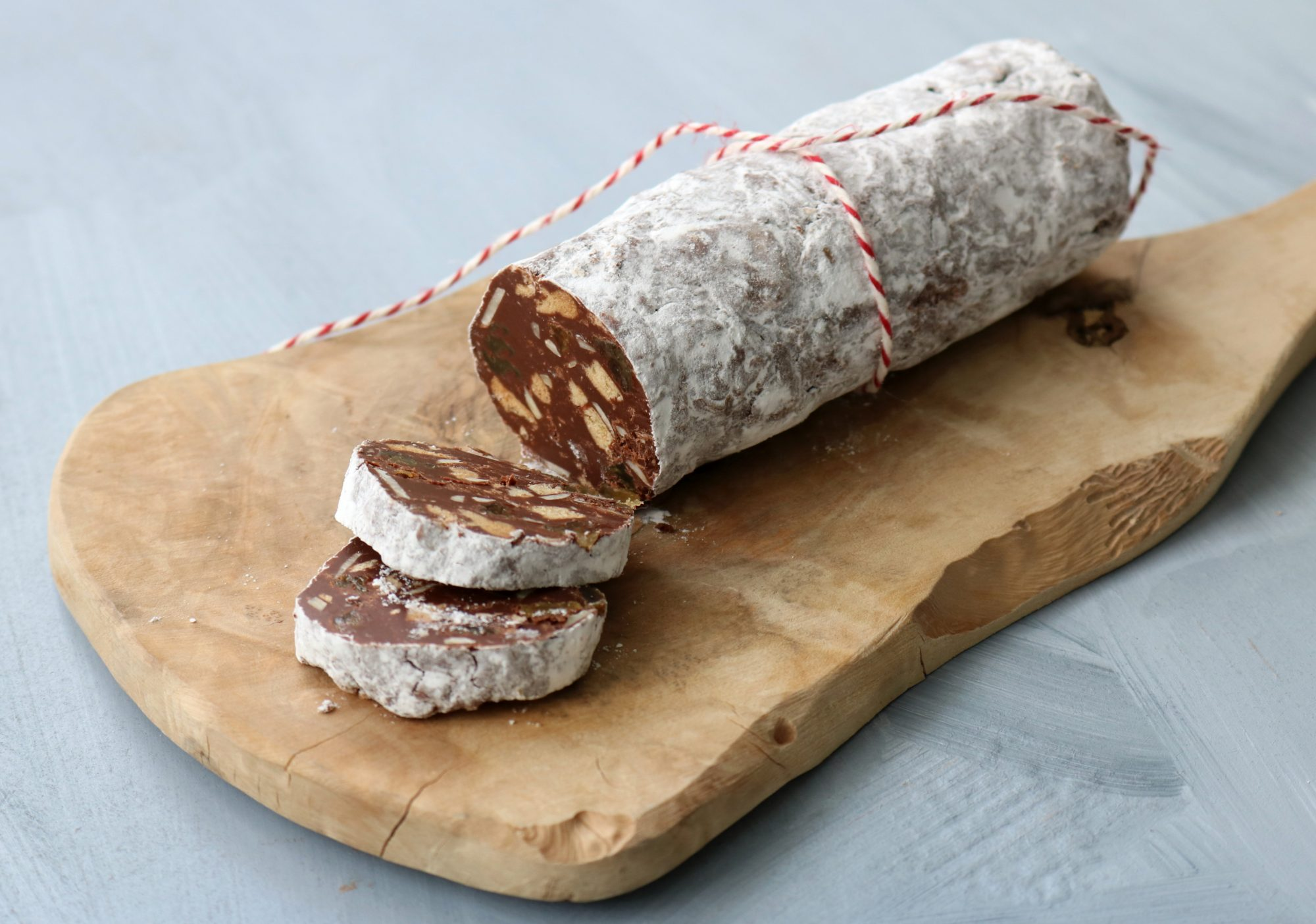 Chocolate Peanut Butter Salami