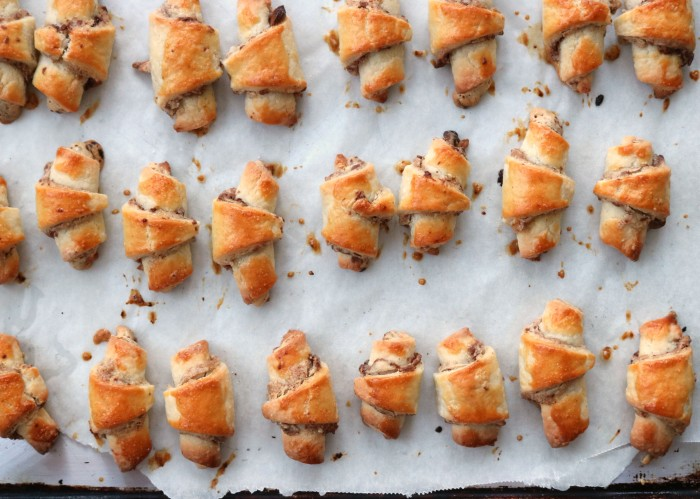 Chocolate Tahini Rugelach