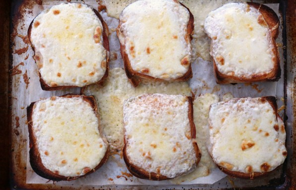 Sheet Pan Croque Monsieur