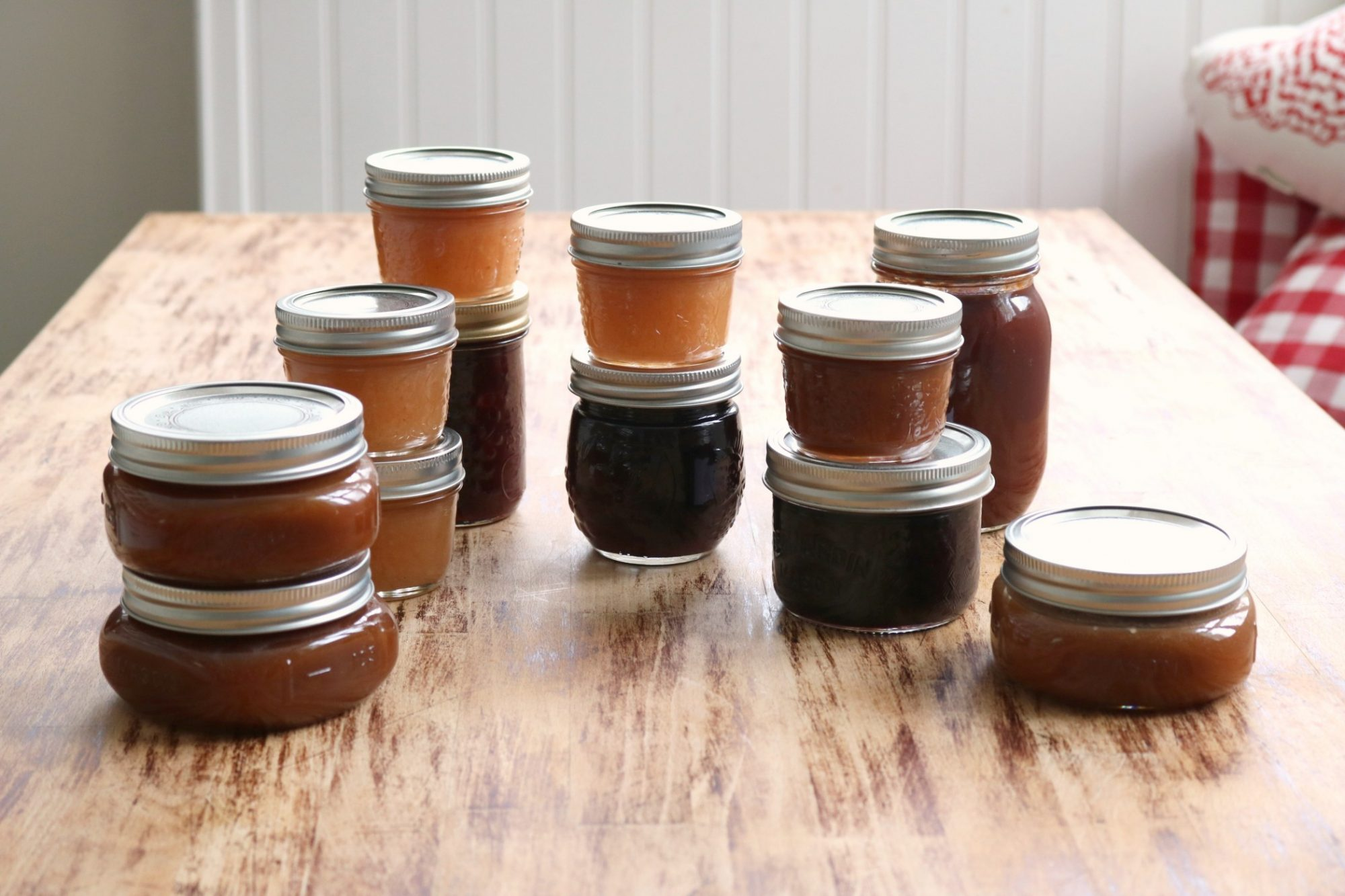 Preserves on table