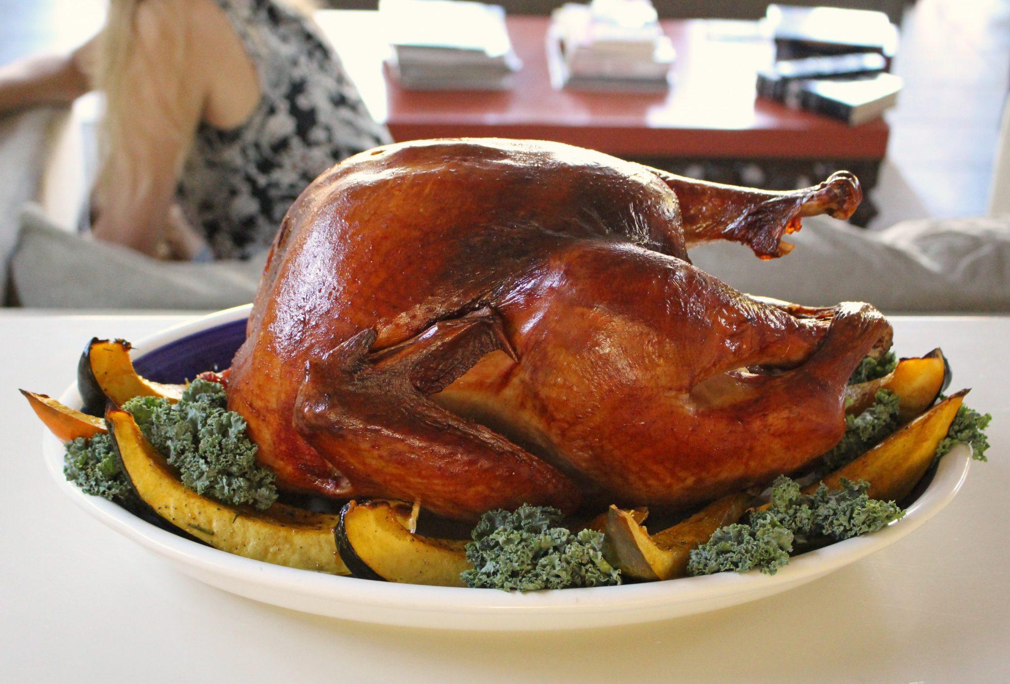 Smoked Winter's Turkey 2