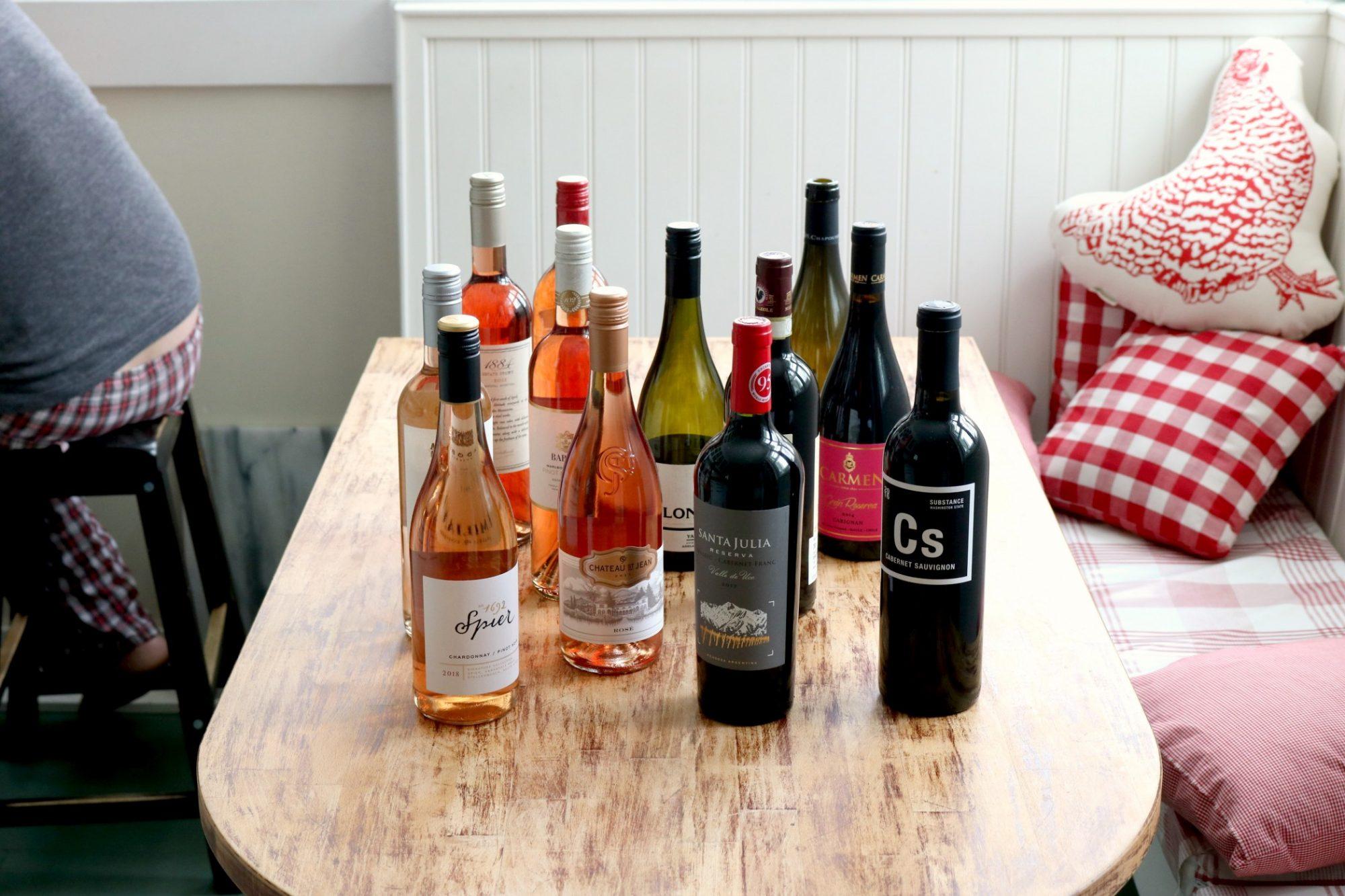 Virtual Vino bottles 1