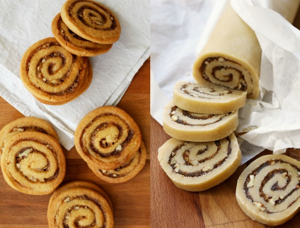 cinnamon bun crunch icebox cookies 7