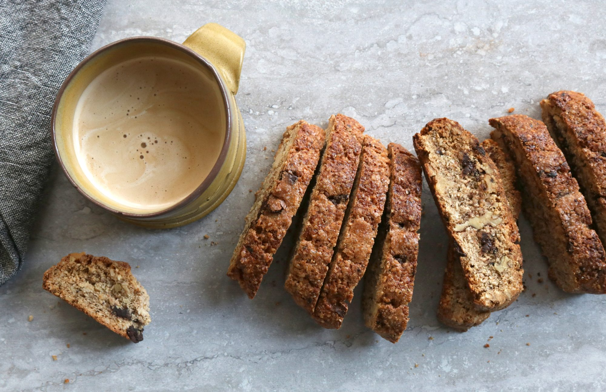 Breakfast Bean Biscotti