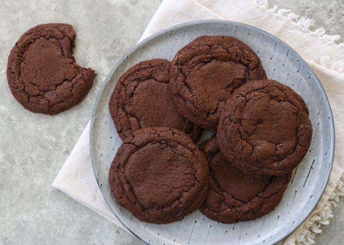 Chocolate Tahini Cookies
