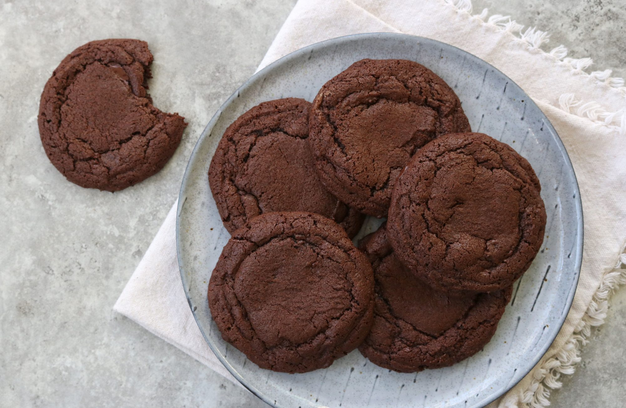 Chocolate Tahini Cookies