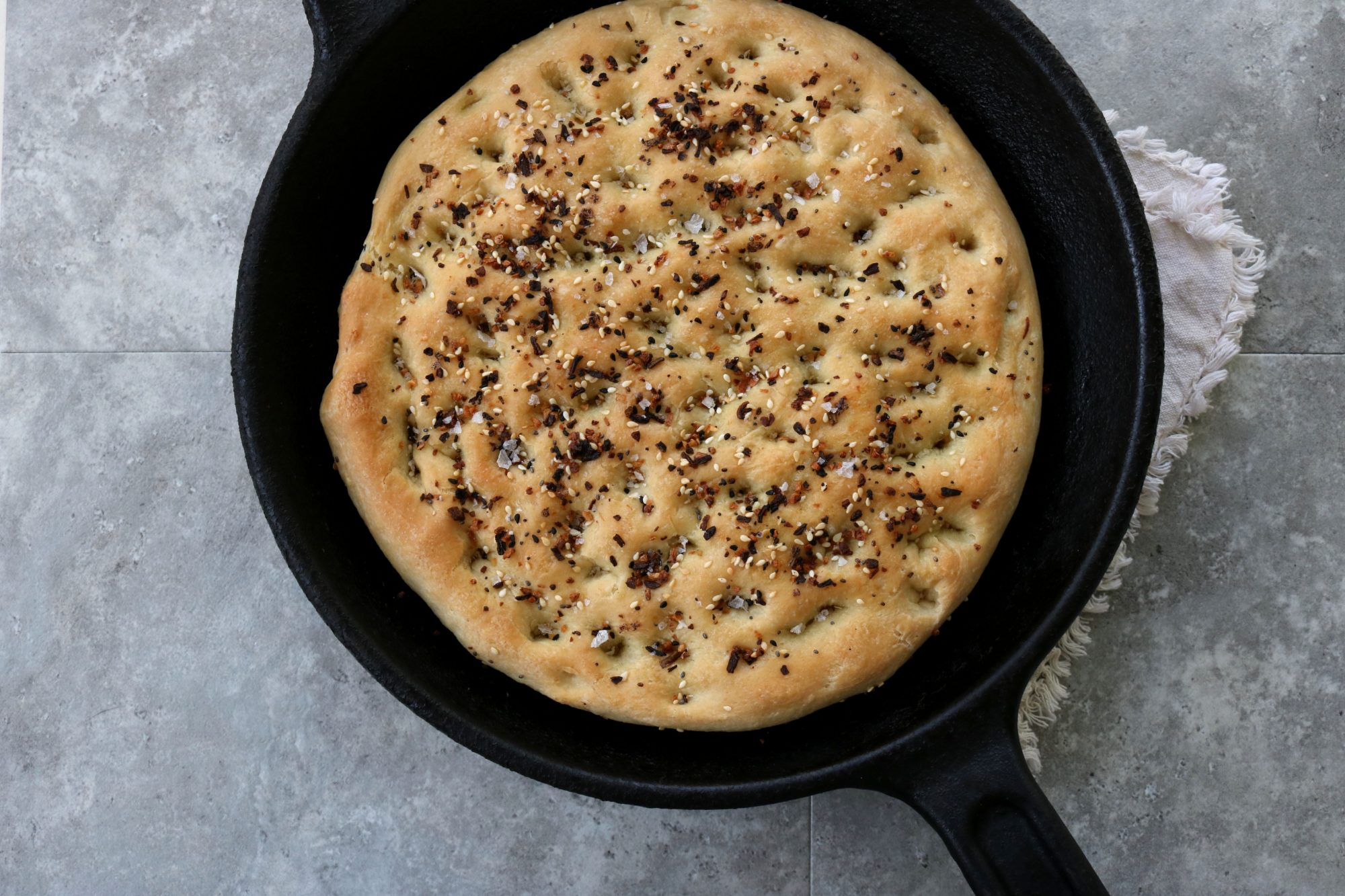 Everything Bagel focaccia