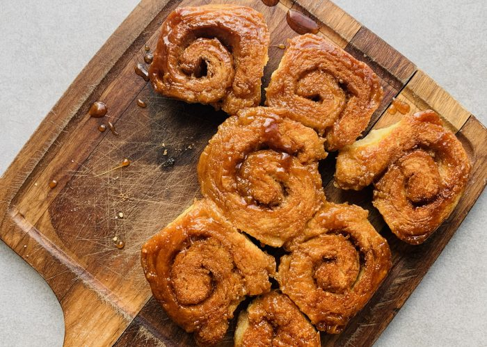 Cinnamon Sticky BIscuits