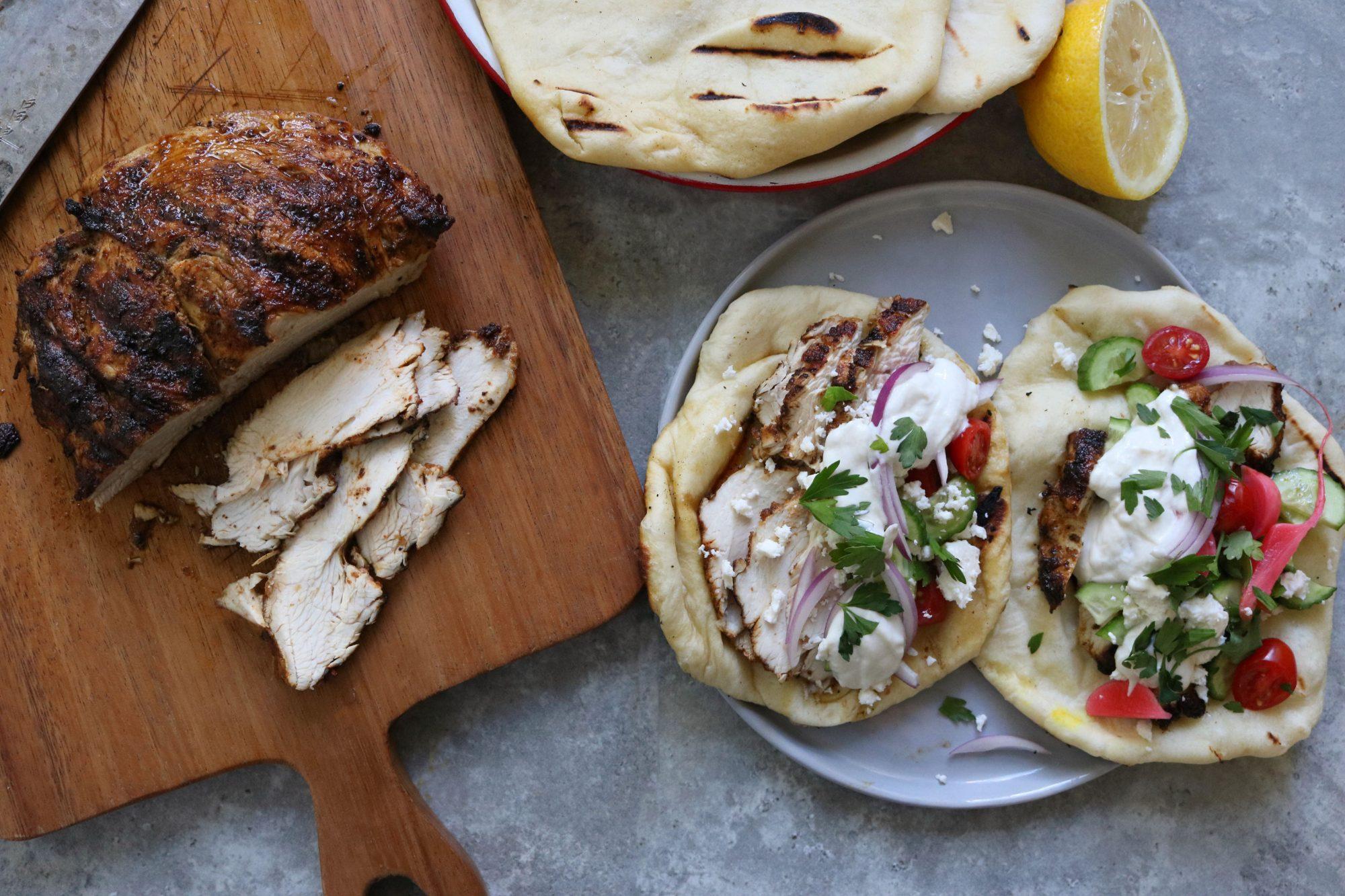 Turkey Shawarmas